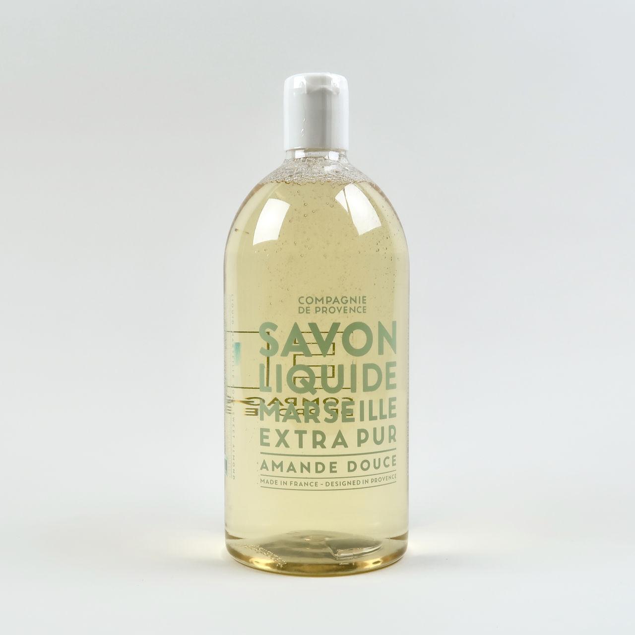 1 Litre Refill Bottle - Sweet Almond Liquid Soap