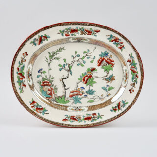 Copeland Plate with Lustre Decoration