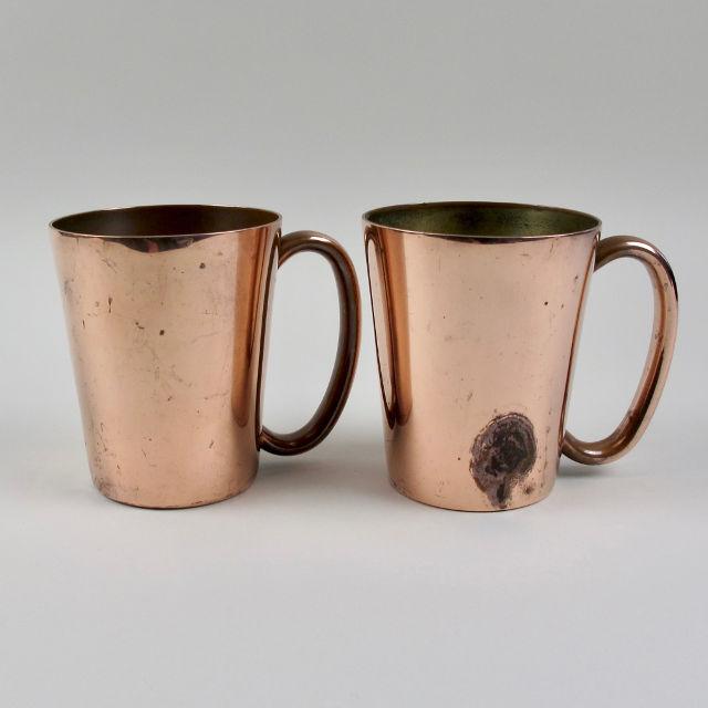 Copper Mugs - Made in Rhodesia
