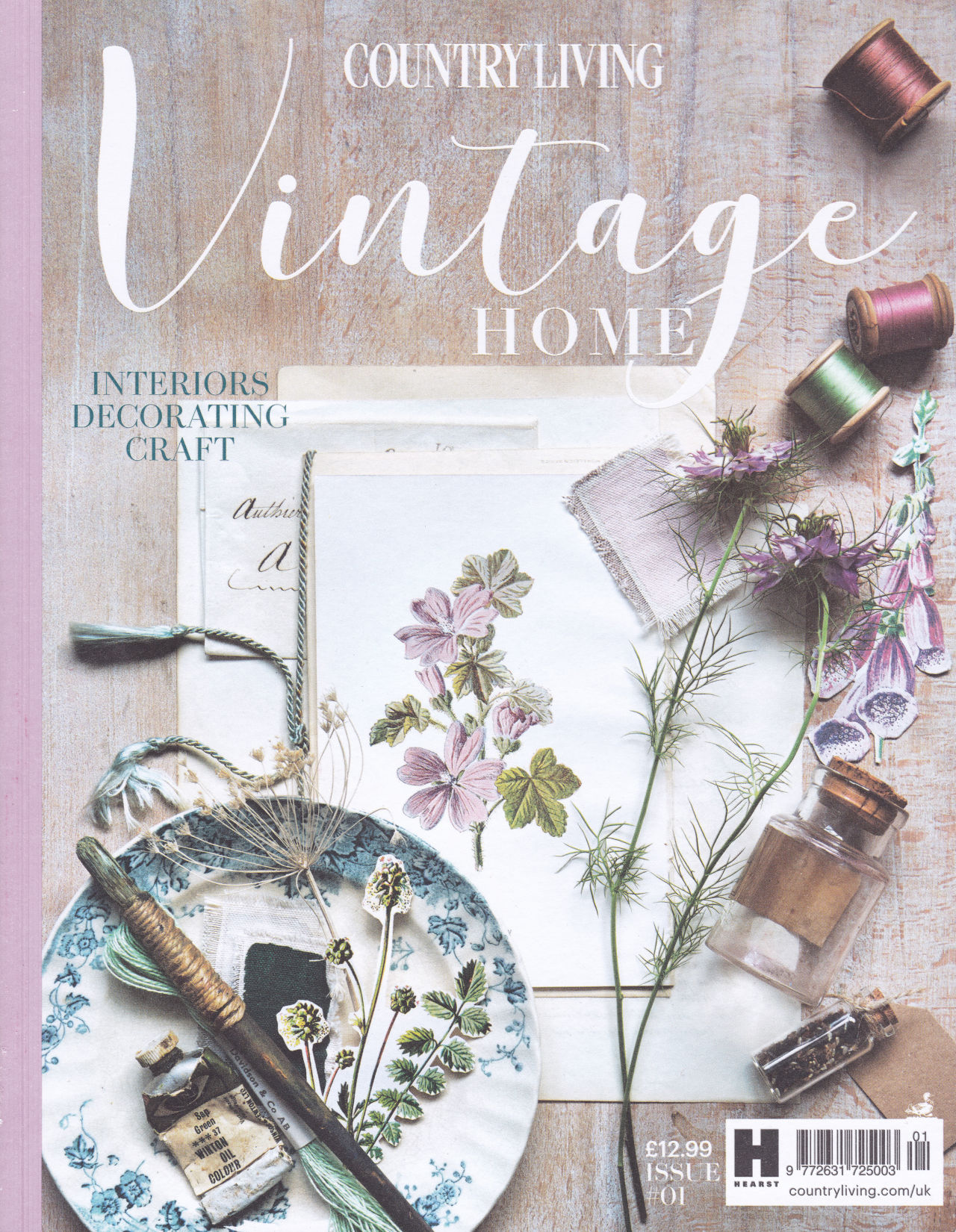 country living vintage home cover 01web