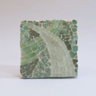 Handmade mosaic tile, made in London