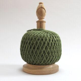 Bishop's Twine Holder, made in Shropshire - Green