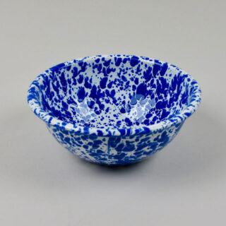 Enamel Splatterware - Cereal Bowl