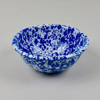 crown canyon splatter cereal bowl blue 01