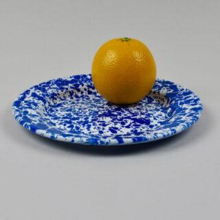 Enamel Splatterware - Salad Plate