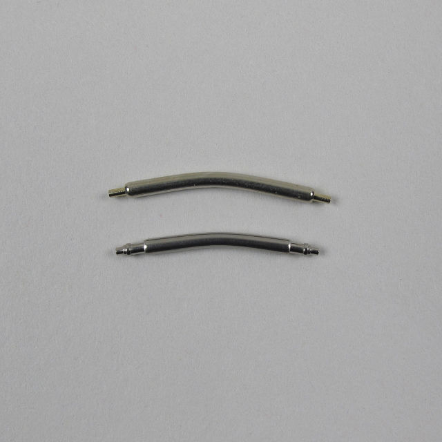 Curved lug pins