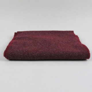 Lambswool 'Hunter' Scarf - woven in Ireland - Red Wine