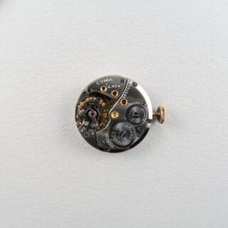 Cyma Cymaflex hallmarked 1960 | 9ct gold lady's manual vintage wristwatch