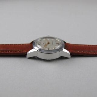 Steel Cyma Cymaflex Ref. 2-9457 lady's vintage wristwatch, circa 1955