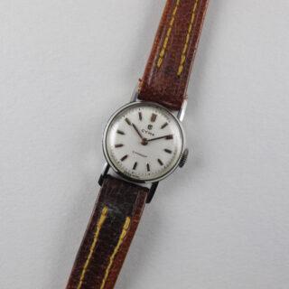 Steel Cyma Cymaflex Ref. 2.9501 lady's vintage wristwatch, circa 1955