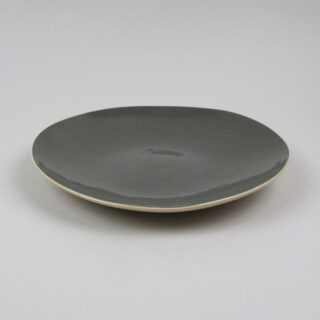 Salad Plate by Brickett Davda, handmade in East Sussex