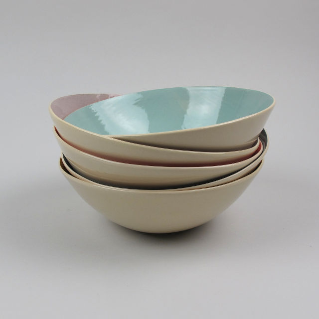 Soup Bowl by Brickett Davda, handmade in East Sussex