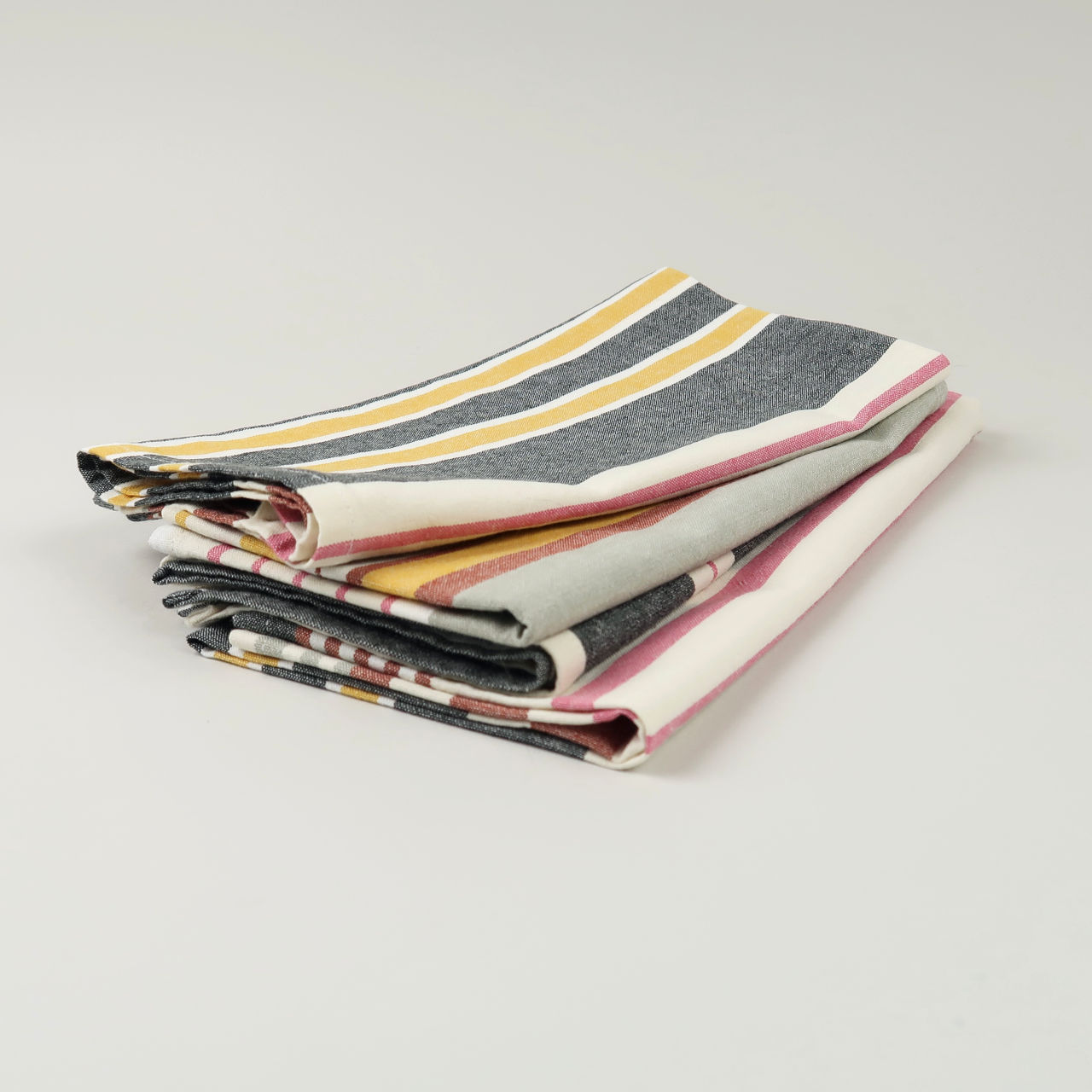 Deckchair Stripe Cotton Napkin