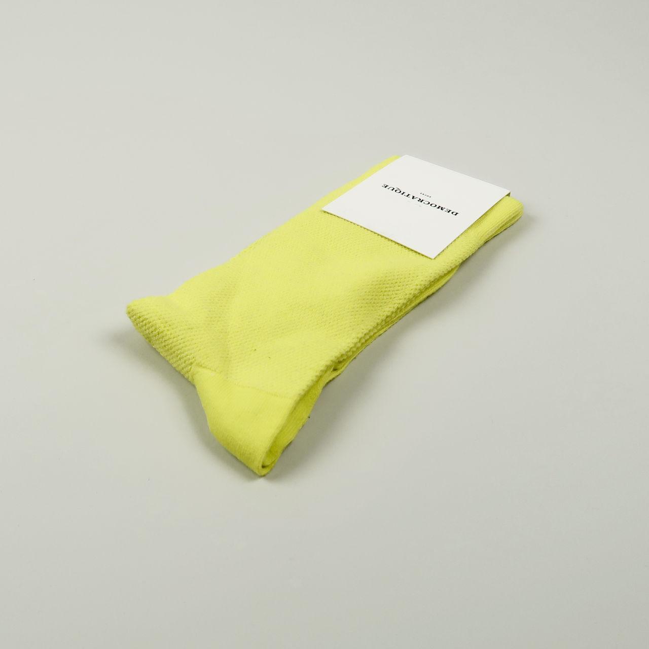 Women's Socks - Champagne Pique - Bright Yellow