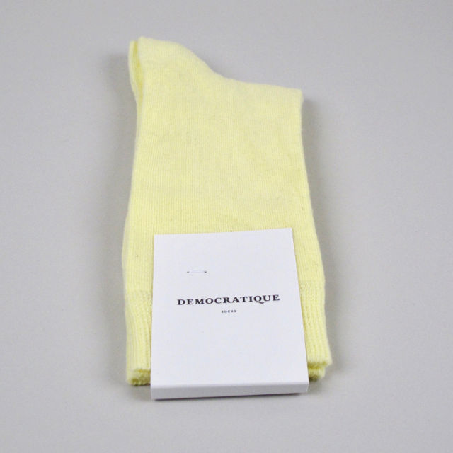 Women's Socks - Pale Yellow