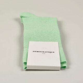 Men's Socks - Champagne Pique - Pale Green