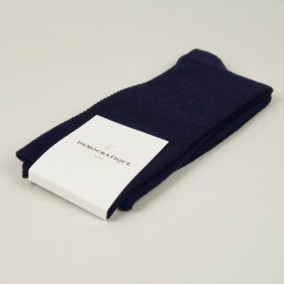 Men's Socks - Champagne Pique - Navy