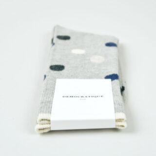 Men's Socks - Original Dots - Light Grey Melange/Navy Melange/Charcoal Melange