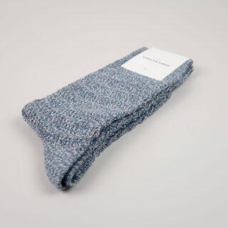 Men's Socks - Relax Slub Knit - Warm Coal/Off White/Diesel