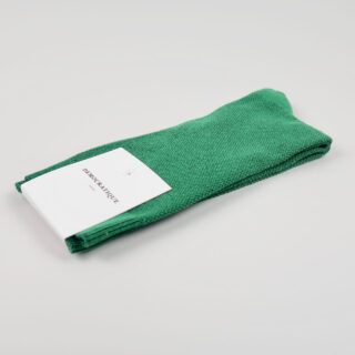 Men's Socks - Champagne Pique - Tennis Green