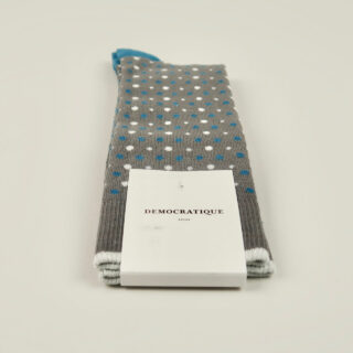 Men's Socks - Polka Dot - Warm Coal/Off White/Diesel