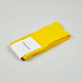 Women's Socks - Champagne Pique - Dominant Yellow