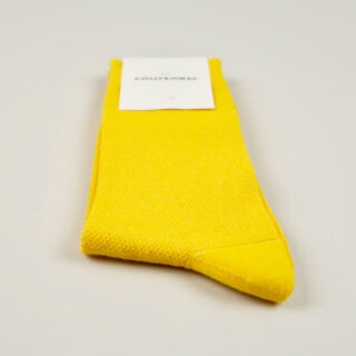 Women's Socks - Champagne Pique - Dominant Yellow