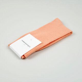 Women's Socks - Champagne Pique - Light Salmon