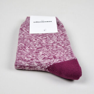 Women's Socks - Twister Wild Berry/Off White