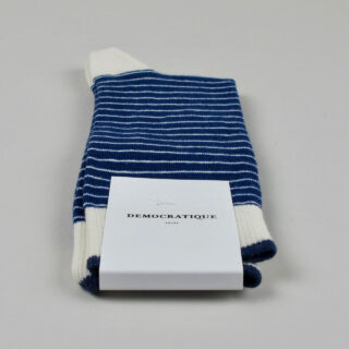 Men's Socks - Mini Stripes - New Blue/Off White/Shaded Blue