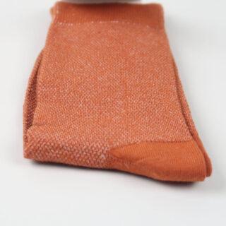 Women's Socks - Champagne Pique - Rust