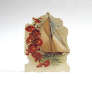 Die Cut Victorian Greetings Card