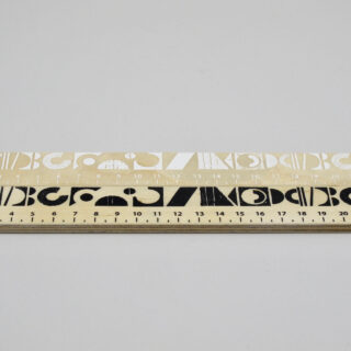 Printed Wooden Ruler