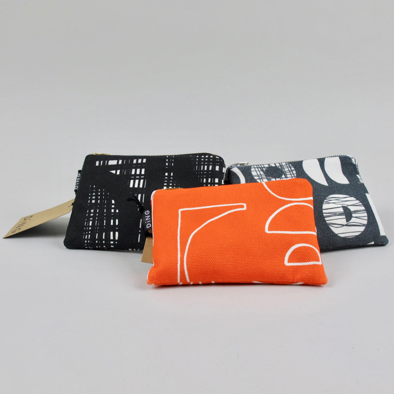 Printed Purse by Ding
