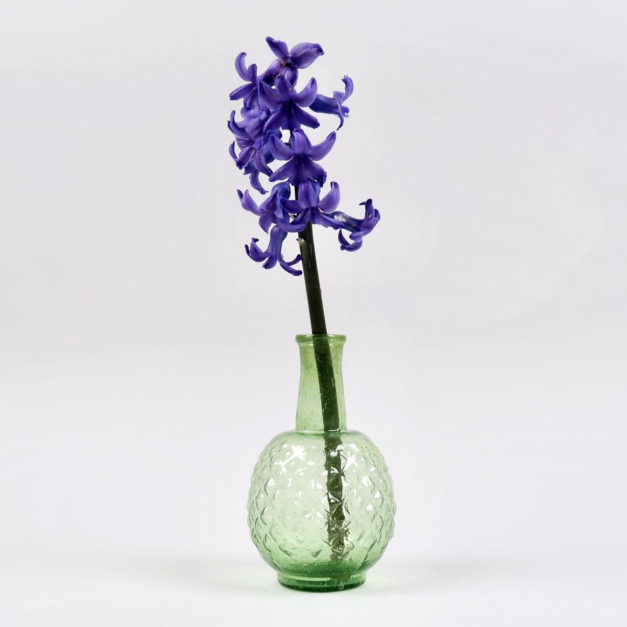 Dots Bud Vase - Spring Green