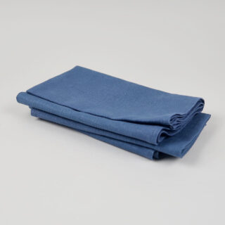 Drab Blue 100% Linen Napkins - handmade in Ludlow