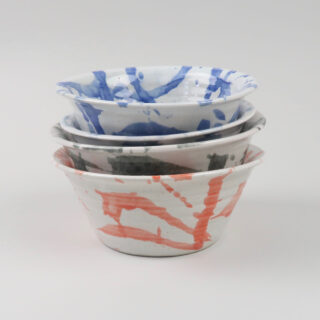 American Splash Bowls, made in Wales - medium