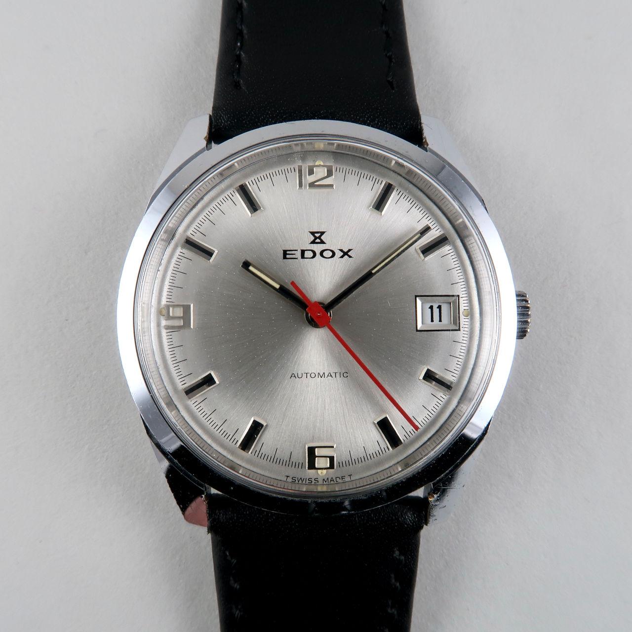 Edox Cal. AS 1903 circa 1975 | chrome & steel vintage wristwatch
