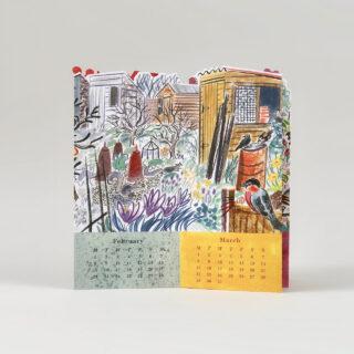 Emily Sutton's Allotment Desk Calendar 2021