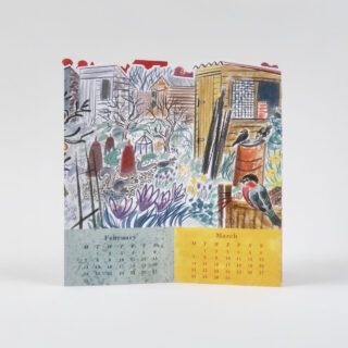 Emily Sutton Allotment Desk Calendar 2022