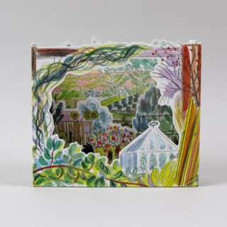 3D Allotment Cards by Emily Sutton