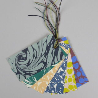 Esme Winter Pack Of 6 Marbled Gift Tags Gtm00 1