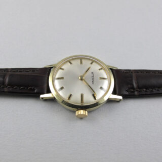 Eterna Ref. 446 gold plated vintage wristwatch, circa 1970