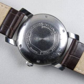 Eterna steel vintage wristwatch, circa 1946