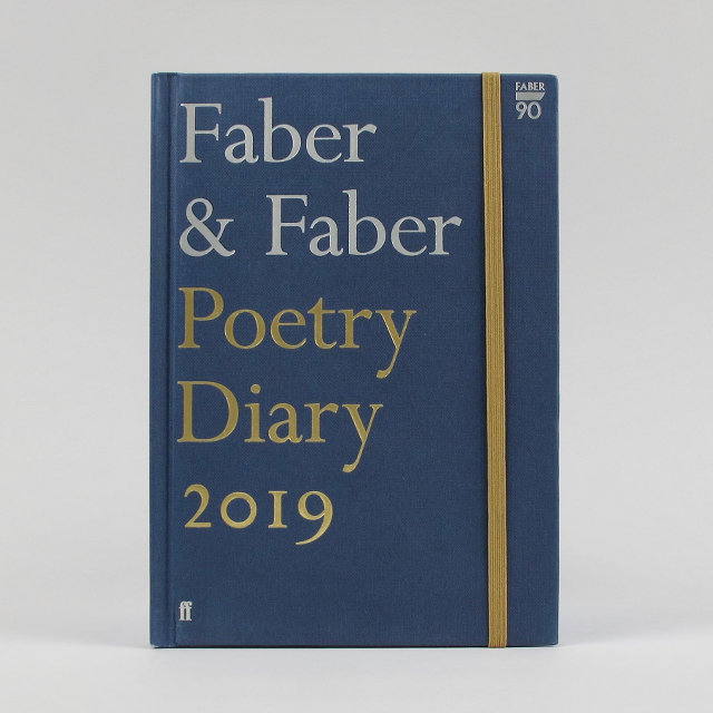 Faber Poetry Diary 2019