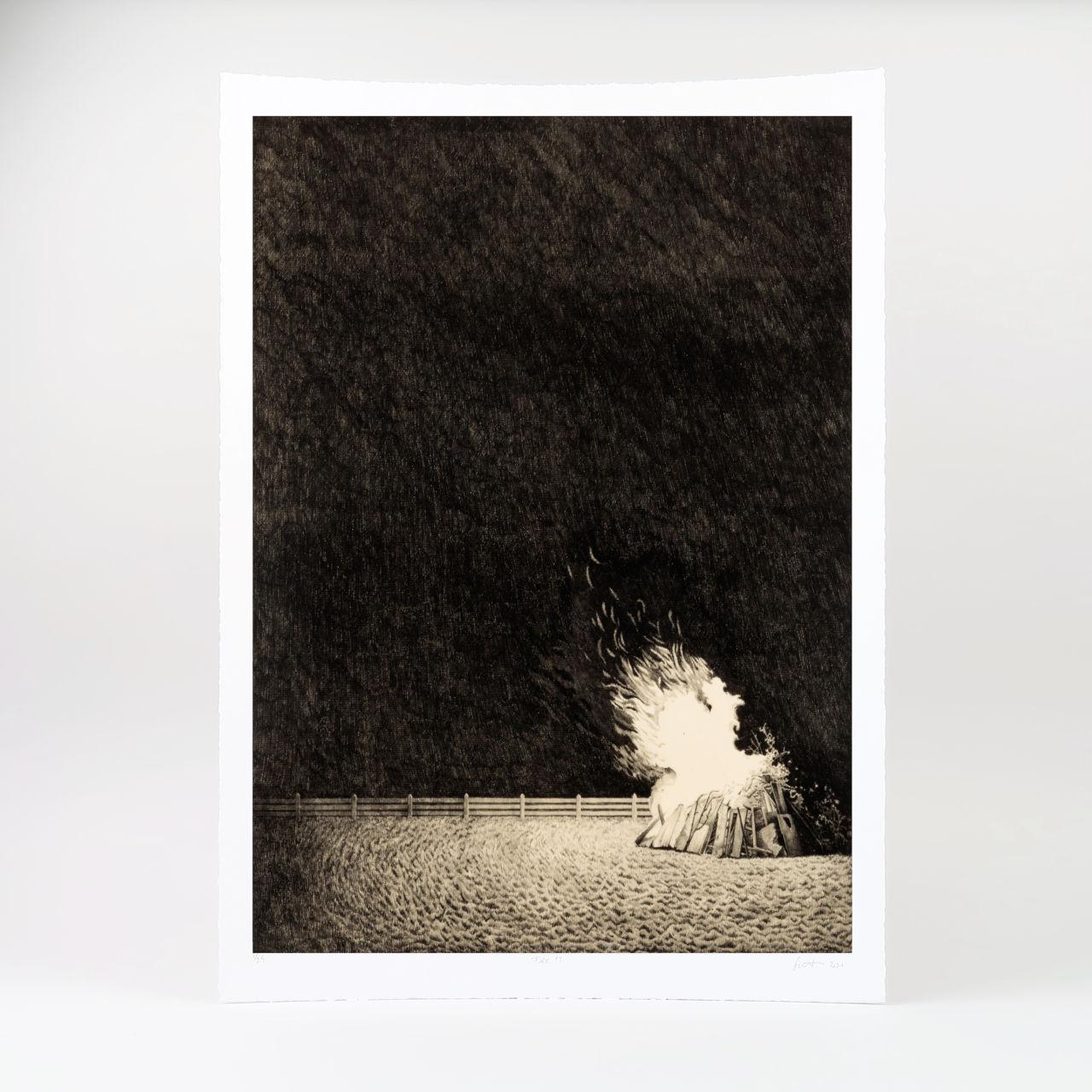 Limited Edition Giclée Print - Fire 11