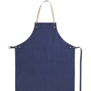 ferm living apron navy blue 01