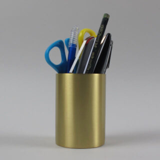 ferm living brass pencil pot 04