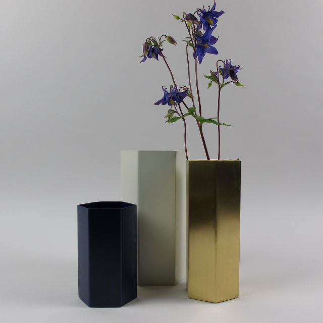 Ferm Living Hexagon Vase
