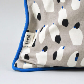 Spotted Cushion - Grey